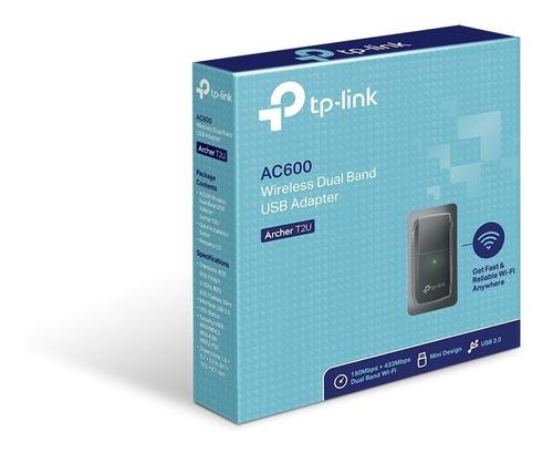 Adaptador-Usb-Wifi-Tplink-Ac600-Archer-T2u-Nano-Doble-Banda