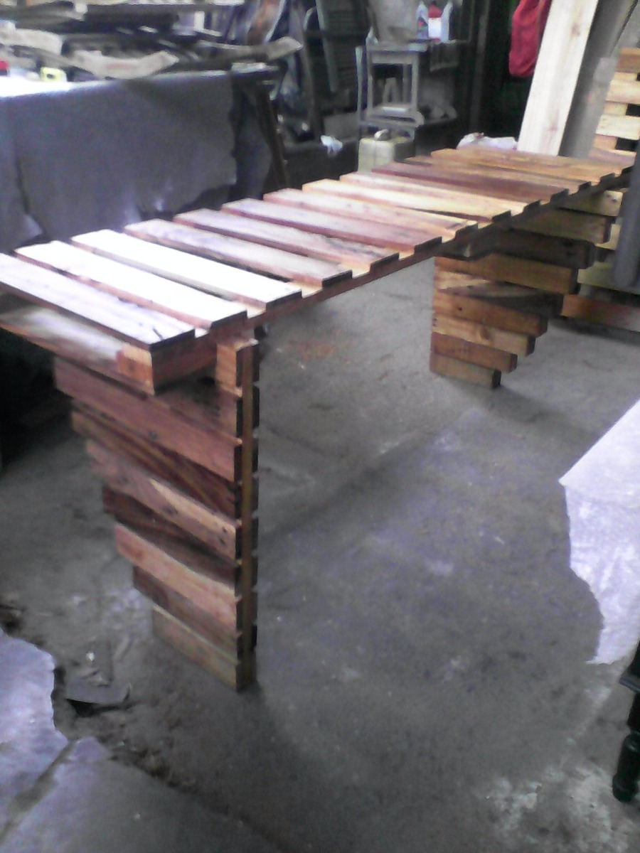 Muebles De Paletas Cool Hacemos Muebles Hechos En Paletas With  # Muebles Con Paletas De Madera