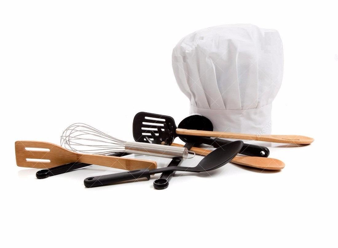 Juego set utensilio 6 pzas profesional chef cocina for Utensilios para chef